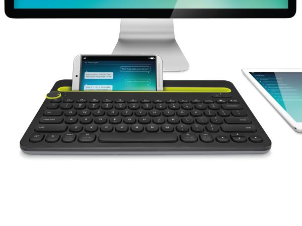All new Logitech Bluetooth Multi- Device Wireless Keyboard now available at out stores... The Computer Keyboard.... that also works with your tablet and smartphone Switch easily between devices A familiar keyboard layout with shortcut keys  - by Sri Vaari Communication, Salem