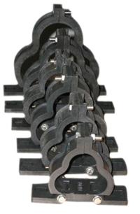 We are one of the leading and competitive Distributors and Manufactures of Aluminum Trefoil Clamp, With Four type of Product Range, Pressure Die Cast Aluminium Trefoil Clamp, Sand  Cast Aluminium Trefoil Clamp, Clamp Type Aluminium Trefoil  - by Sarju Agency, Chennai