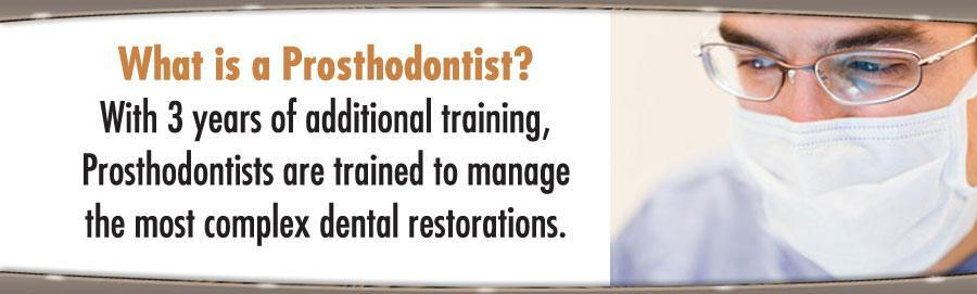 What is a prosthodontist?  woman and man smiling Prosthodontics is one of the nine dental specialties recognized by the American Dental Association. Graduate programs in prosthodontics are three years in length and include classroom lecture - by RUMANA DENTAL CLINIC, Jamshedpur