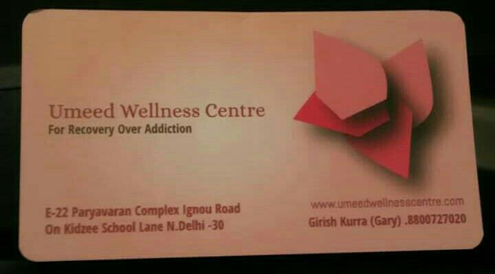 Luxurious Deaddiction & Rehabilitation Services, customized program, holistic approach, professionals & peer educators to help people recover from drug/alcohol dependence - by Umeed Wellneess Centre - Drug/alcohol rehab, New Delhi