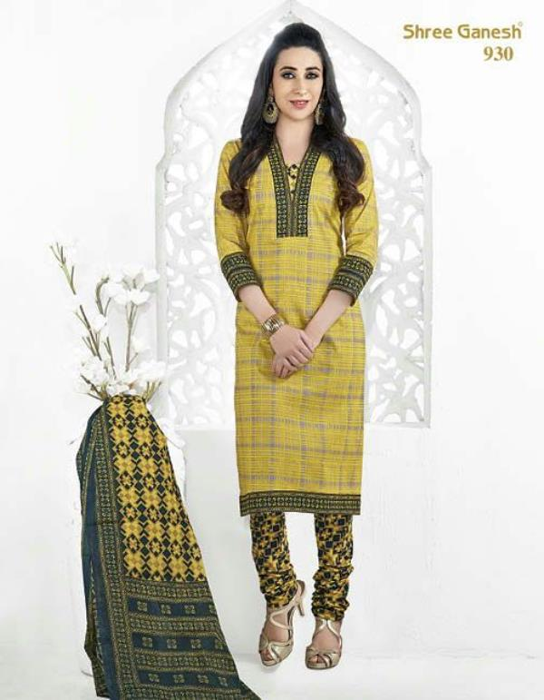 Gorgeous trendy ready to stitch salwar kameez that is absolutely feminine, the fancy beautiful georgette material in the top will enhance the glimpse of the attire. Stitch as per your preference, wear a delicate pendant and peeptoes for a n - by Aj Retail, Chennai