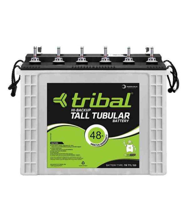 Tubular Regular Batteries Available :- 100, 150, 165 & 180 AH  Features and Benefits       Unique Tubular/flat positive plates designed for longer life      Superior active material and special alloy used for low maintenance of battery      - by Bhoomi Enterprises, Davangere