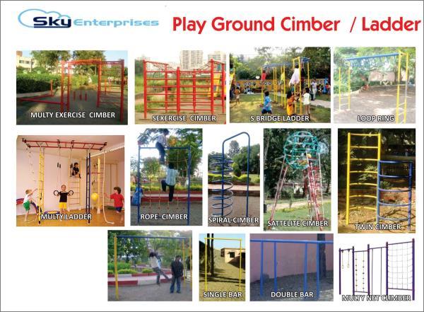 Playground Cimber Ladder - by Sky Enterprises, Nashik