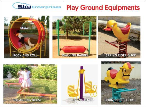 Playground Equipments - by Sky Enterprises, Nashik