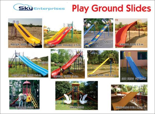 Playground Slides - by Sky Enterprises, Nashik