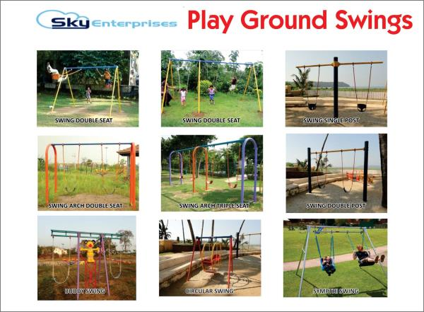 Playground Swings - by Sky Enterprises, Nashik