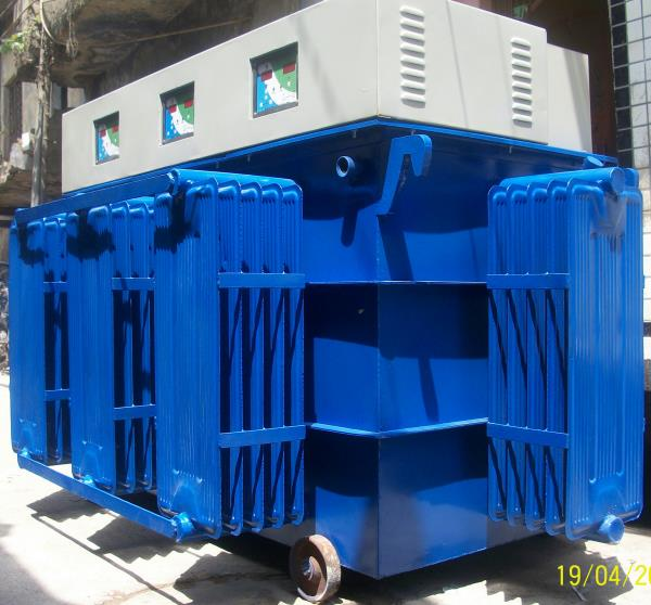500 kva power stabilizer for long life of  industrial equipment. - by Power Bank India, New Delhi