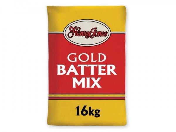 Batter Mixes: Henry Jones, Goldensheath, Middletons, A1,  - by KENT EDIBLE OIL LTD, Kent