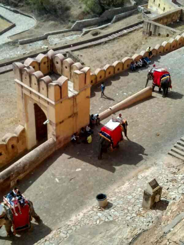 Amer Fort - by Ambey Travels, Ghaziabad