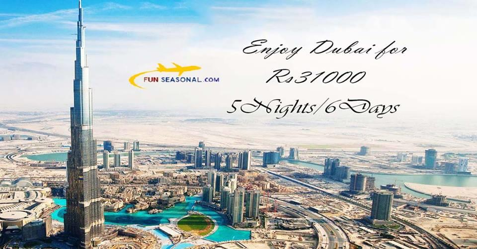 Best deal for Dubai packages at just Rs. 31000. Visit Dubai for a vacation with family and friends since its the best time to visit Dubai. Dubai, a city in U.A.E is famous for its luxury shopping and a bustling night life. You can visit Bur - by Cheap travel packages @9873937953, Faridabad