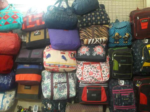 This are our bags in which we are dealing like jeans bags and many more - by BAG PALACE, Ahmedabad