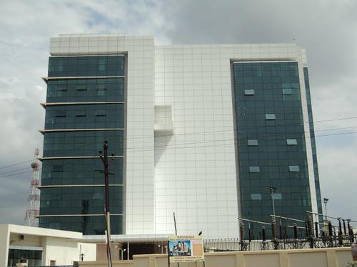 We also do ACP Structural Glazing Works for Commercial Building - by Amit Engineering, Ahmedabad
