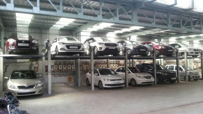 We are the leading manufacturer and installer of Car Parking system in ahmedabad  - by Amit Engineering, Ahmedabad