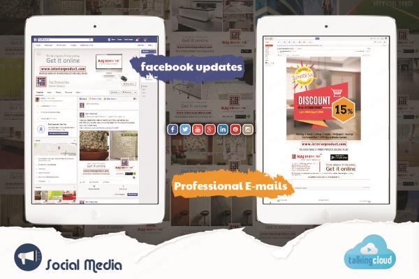 We do Social Media Marketing in London As well as we also do Social Media Visuals Designing in London. - by Talking Cloud, London
