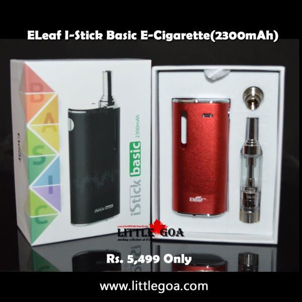 Buy best Electronic cigarette ELeaf I-Stick Basic E-Cigarette(2300mAh) @Rs 5499 only. Buy now to get 10% discount.  http://www.littlegoa.com/i-stick-basic-e-cigarette-2300mah - by Little Goa Call Us @8860974273,011-23647849, Bangalore