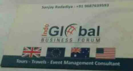 Tours, Travels & Event Management Consultant in Ahmedabad - by Indo Global Business Forum , Ahmedabad