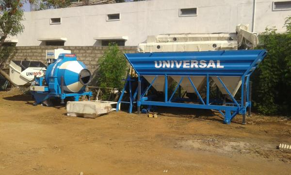 CONCRETE MOBILE MINI BATCHING PLANT CAPACITY 12 CU MTR PER HOUR - by Acme Concrete Mixers Pvt Ltd, Hyderabad