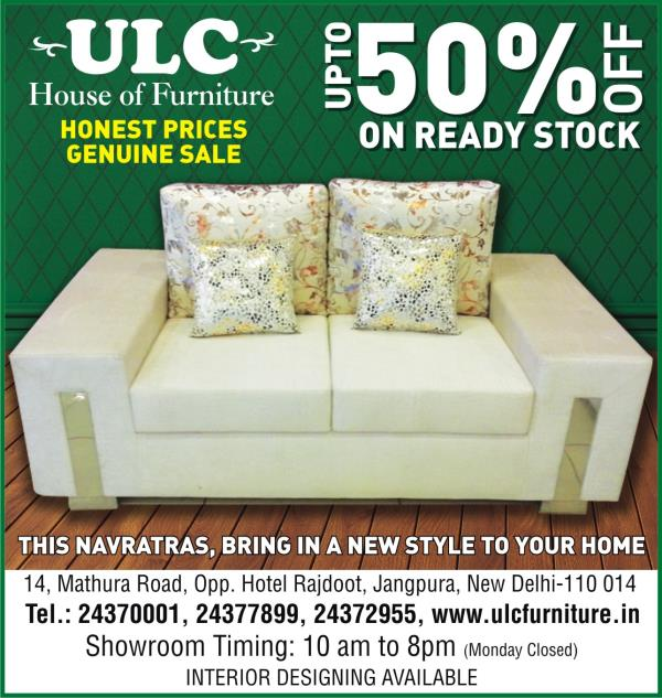 new range of bedroom furniture @30% discount - by ULC, South Delhi