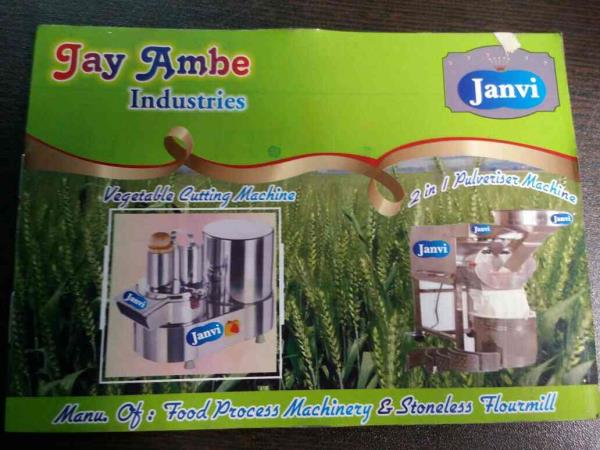 Jay ambe industries Manufacturers of Janvi Brand Food Processing Machine, Stonless flour mill in rajkot - by Jay Ambe Industries, Rajkot