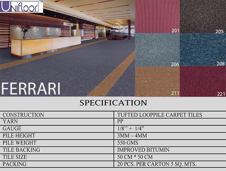 Carpet tiles in delhi  - by Wooden Flooring In Delhi, New Delhi