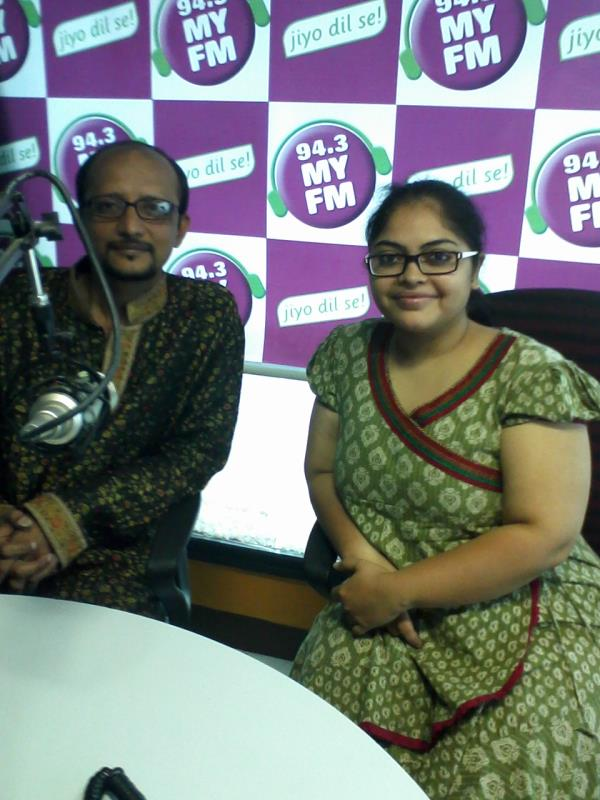 An Interview with RJ Archana @ MY FM - by Kunal Vyas Events, Ahmedabad