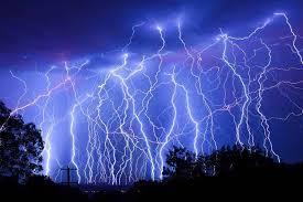 Lightning : Salient points to know  A lightning strike (or L~ stroke) is an electric discharge between the atmosphere and an earth-bound object. They mostly originate in the thundercloud and terminate on the ground, called cloud to ground ( - by 3E Solutions, Jaipur