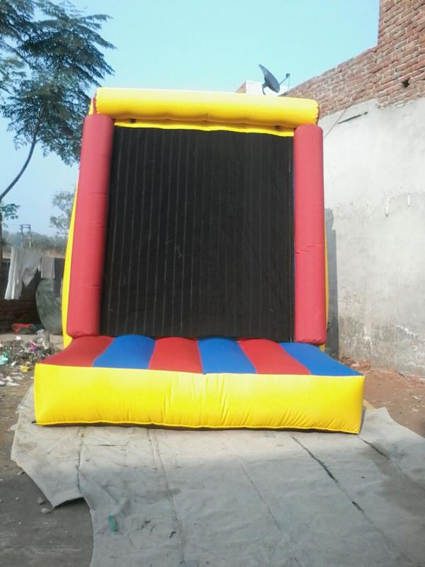 Inflatable tower  Bouncy     We are major manufacturer and supplier of a wide range of Inflatable Tower bouncy such as tunnels, bouncy castles and obstacles. Our range also comprises of Slides, Interactive Play, Children's Ball Pools, and F - by Laxmi Inflatables - Advertising Balloons, New Delhi