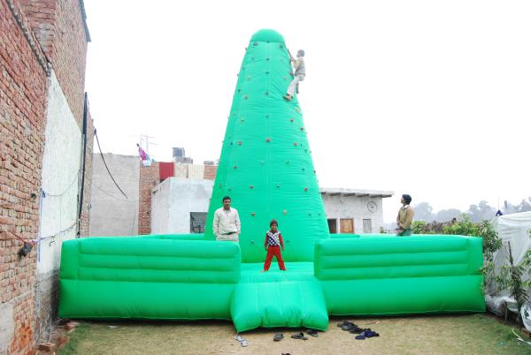 Inflatable Tower Bouncy   We are major manufacturer and supplier of a wide range of Outdoor Bouncy Castle such as tunnels, bouncy castles and obstacles. Our range also comprises of Slides, Interactive Play, Children's Ball Pools, and Family - by Laxmi Inflatables - Advertising Balloons, New Delhi