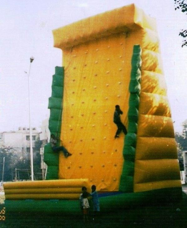 Inflatable  Tower Bouncy  Balloon   \We are major manufacturer and supplier of a wide range of Outdoor Bouncy Sliding in such 8 faces of micky mouse. Our range also comprises of Slides, Interactive Play, Children's Ball Pools, and Family an - by Laxmi Inflatables - Advertising Balloons, New Delhi