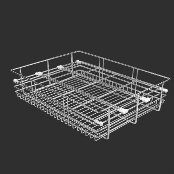 We are Also offer SS Glass Basket in Rajkot-Gujarat We have wide range of Kitchen Basket with good Quality Material - by Credible Steel Tech Pvt Ltd, Rajkot