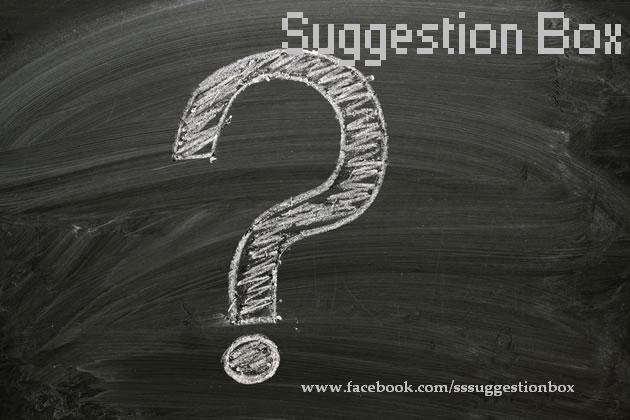 What is Suggestion Box.....?    Hint! www.facebook.com/sssuggestionbox - by Social Sunday, Ahmedabad
