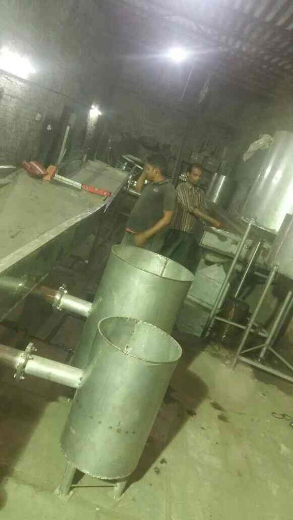 This is a POTATO CHIPS LINE Under Process on Factory - by Fry Bake Food Equipment, Ahmedabad