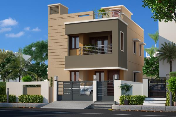 Ganesh Garden (Opp) Velammal Vidhyalaya Panchetty  Duplex House for Sale (3 BHK)  - by Jaayam Promoters, Thiruvallur
