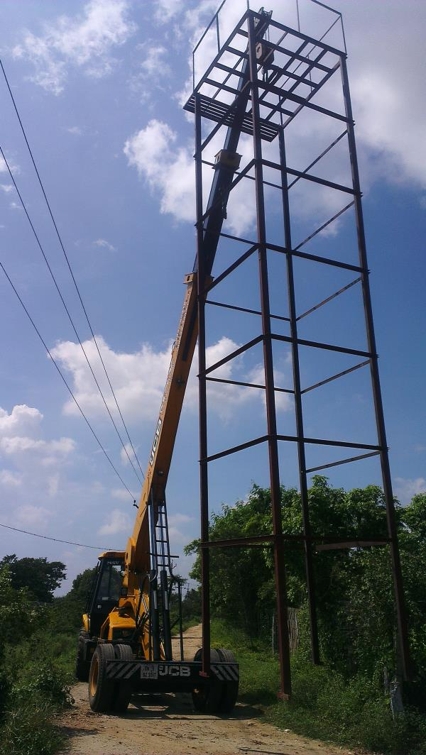 46 feet height working... - by MSV Earthmovers And Crane Services, Tirupur