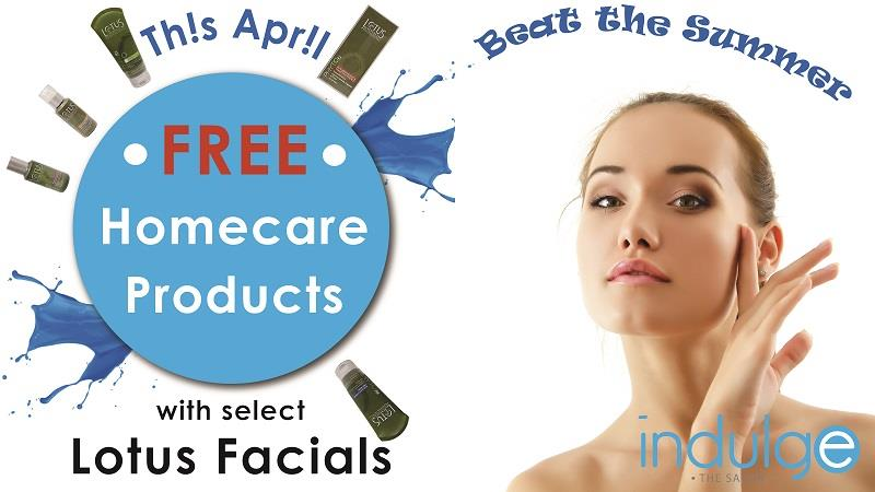 Free Lotus Products with select Lotus Facials. - by Indulge The Salon, Bhubaneswar