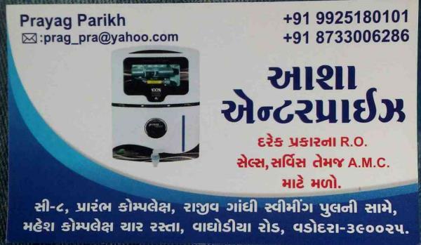 Asha enterprise provide RO and water purifier at waghodiya road Vadodara at best price.  - by ashaenterprise, Vadodara