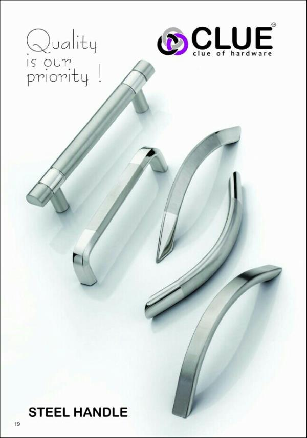 We are manufacturers and suppliers of cabinet handle in Rajkot , Gujarat , India - by sr Enterprise , Rajkot