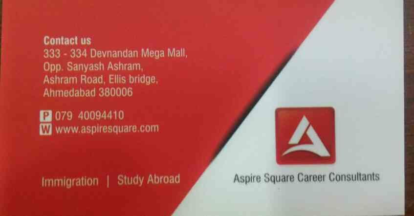 plz contact for visa consultant in ahemdabad  www.aspiresquare.com - by Aspire Square Careers Consultant, Ahmedabad