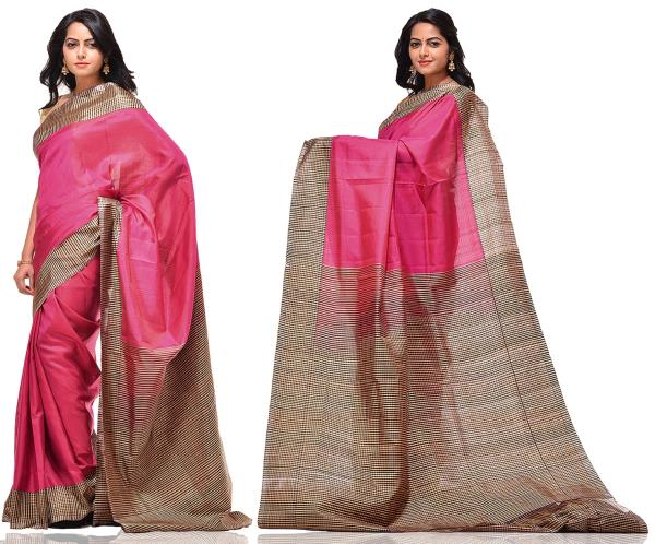 Price: - 8500/-   Uppada presents new collection of uppada sarees, uppada cotton silk sarees, uppada silk sarees, uppada silk sarees. Sign up now for E-book you will be updated with latest collection of ethnic verities. For More Info Click  - by Paithani, Hyderabad