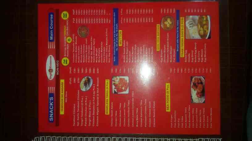 Singh restaurant - by King Of Snacks  , Indore