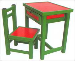 we are manufacturer of ACCUCEL make Solid uPVC school furnitures - by Accura Polytech Pvt ltd, Chharodi