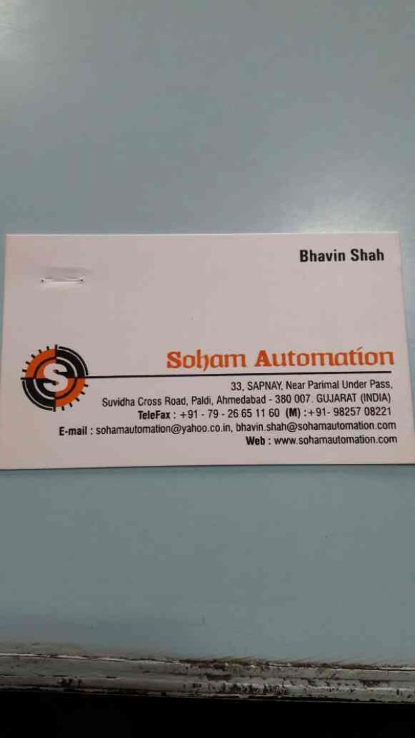 we are taking turnkey projects, solution provider, system Integrator , and process automation and instrumention and control.... - by Soham Automation, Ahmedabad