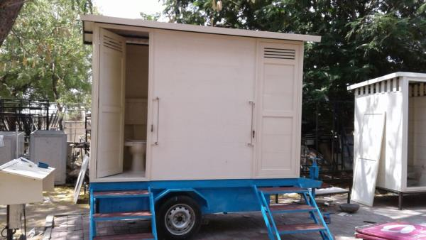 we are manufacturer of modular / mobile toilets from ACCUCEL solid uPVC profiles  - by Accura Polytech Pvt ltd, Chharodi