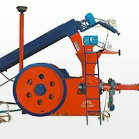 We are manufacturers and suppliers of briquetting Press machine in Rajkot , Gujarat , India .This is use in boiler industry - by Brahmani Engineering, Rajkot