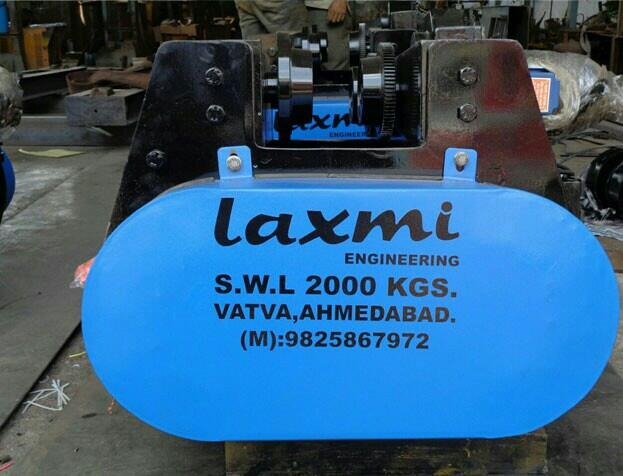 HomeAbout usProductsInquiryContact us  Our Industrial Wire Rope Hoist with their modular construction leads to easy maintenance and further simplifies the repairing process and hence makes it suitable for various foundries, steel mill dut - by Laxmi Engineering, Ahmedabad