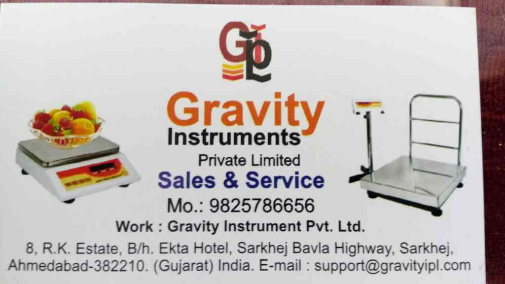 we are leading manufacture in electronic weigh scale in Ahmedabad in Gujarat   - by Gravity, Ahmedabad