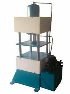 This is our innovative product Hydraulic four pillar Press machine - by Tolerance Engineering, Ahmedabad