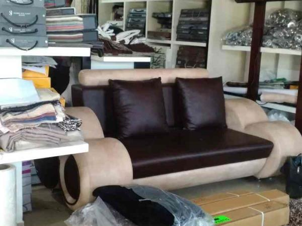 our sofa set @ 15k - by National Furnishing, Ahmedabad