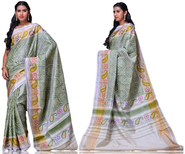 Price:- 13300/-   New collection of Ikkat sarees, ikkat Silk sarees, ikkat Cotton sarees, ikkat sarees. Sign up now for E-book you will be updated with latest collection of ethnic verities. For More Info Click on :- www.uppada.com  We manufacture of Uppada sarees, Paithani sarees, Banarasi sarees, Venkatagiri Sarees, Gadwal Sarees, Khadi sarees, Hand Painted Kalamkari Dupatta, Ikkat sarees, Kanchipuram Sarees, Dupattas, Stoles etc. For more info us at 040 64640303, 441905005.  Buy online: - uppada.com  - by Paithani, Hyderabad