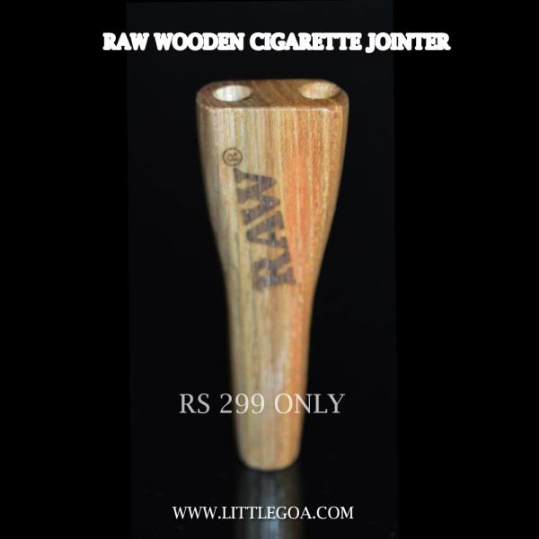 Buy Raw Cigarette Jointer  made up of wooden only at Rs 299 from LittleGoa  Weight - 11 Gram  Length - 8 cm   http://www.littlegoa.com/raw-wooden-cigarette-jointer-dual - by Little Goa Call Us @8860974273,011-23647849, Bangalore